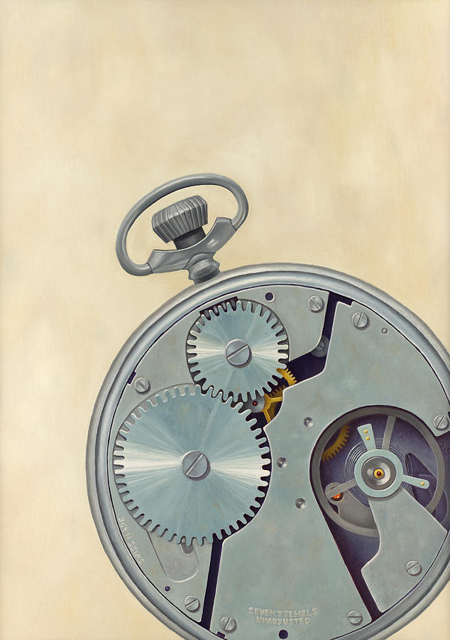 Pocket Watch Painting