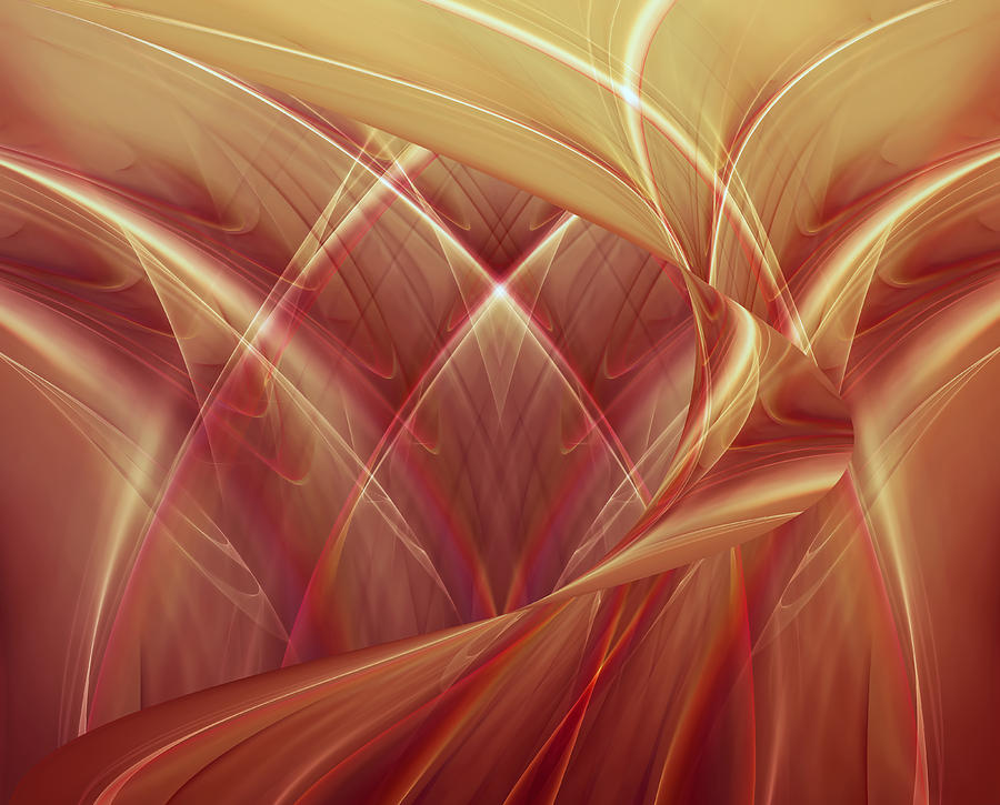 Poetic Emotions 2 Abstract Digital Art  - Poetic Emotions 2 Abstract Fine Art Print