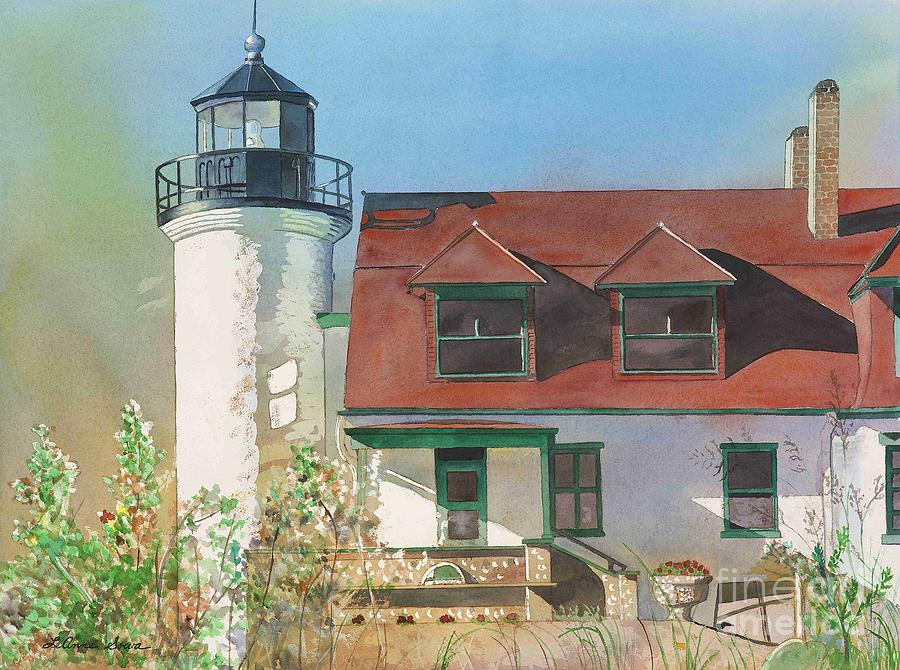 Point Betsie Lighthouse Painting