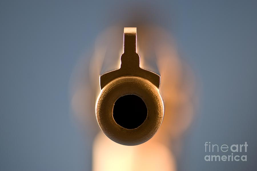 Point Blank Photograph  - Point Blank Fine Art Print