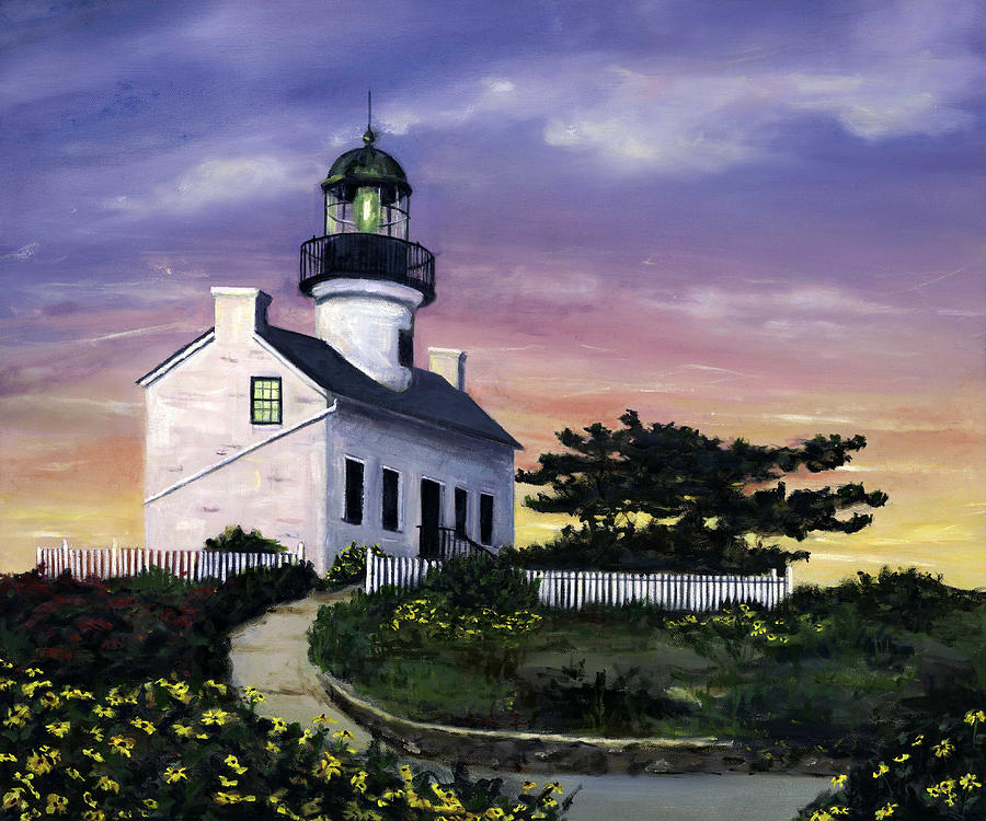 Point Loma Painting  - Point Loma Fine Art Print