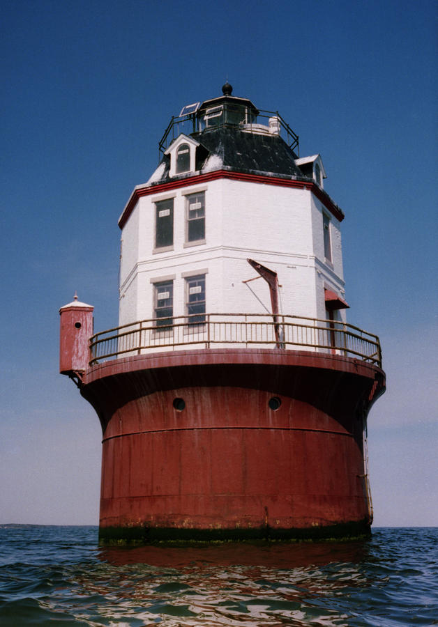 Point No Point Lighthouse Chesapeake Bay Maryland Photograph