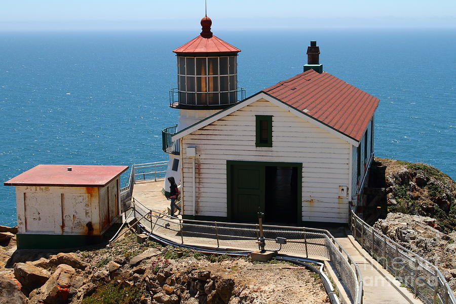 Point Reyes Lighthouse In California 7d15997 Photograph