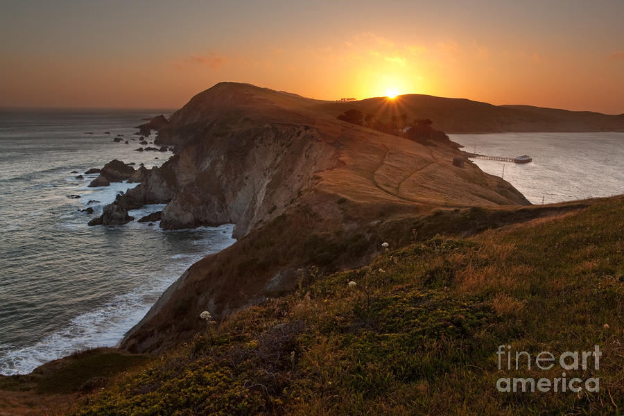Point Reyes Sunset Photograph