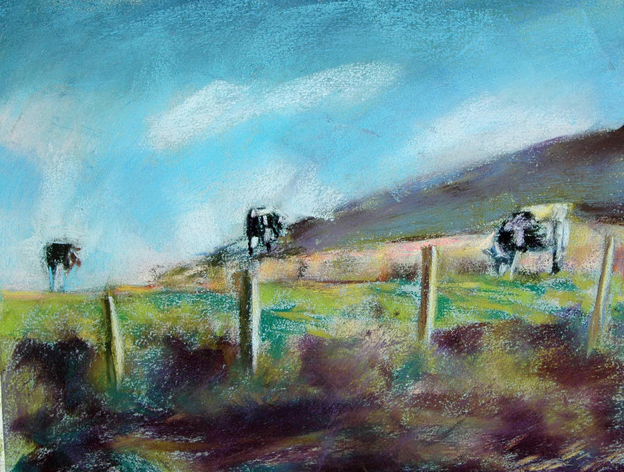 Point Reyes Trilogy Painting  - Point Reyes Trilogy Fine Art Print