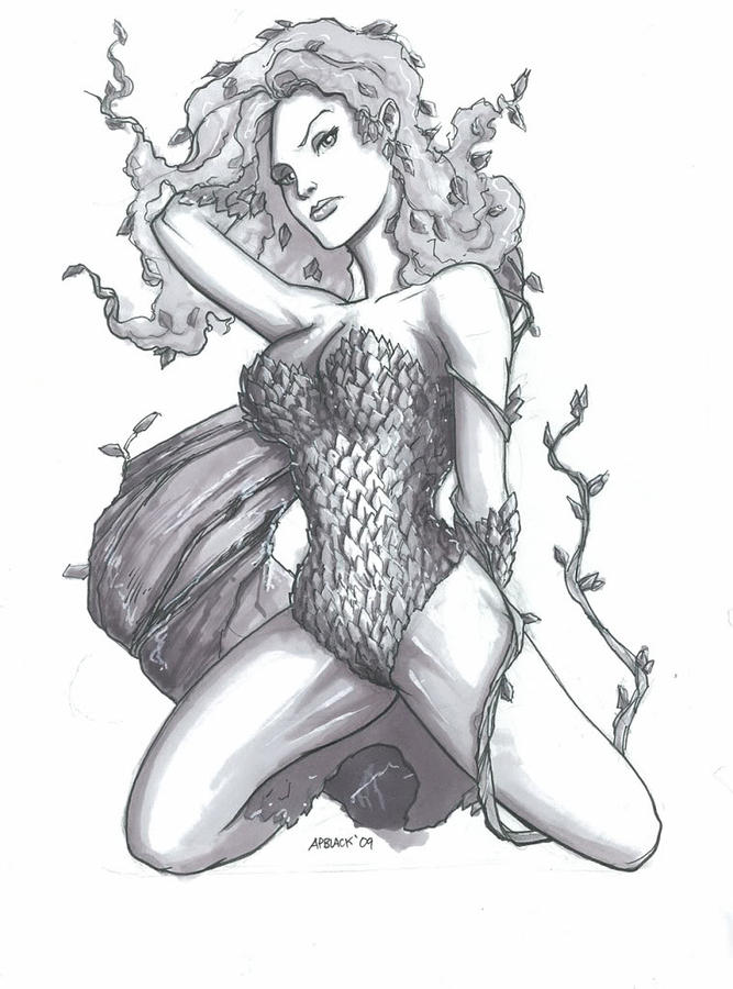 Poison Ivy by Andrew Black