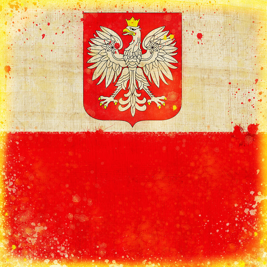 Poland Flag Painting