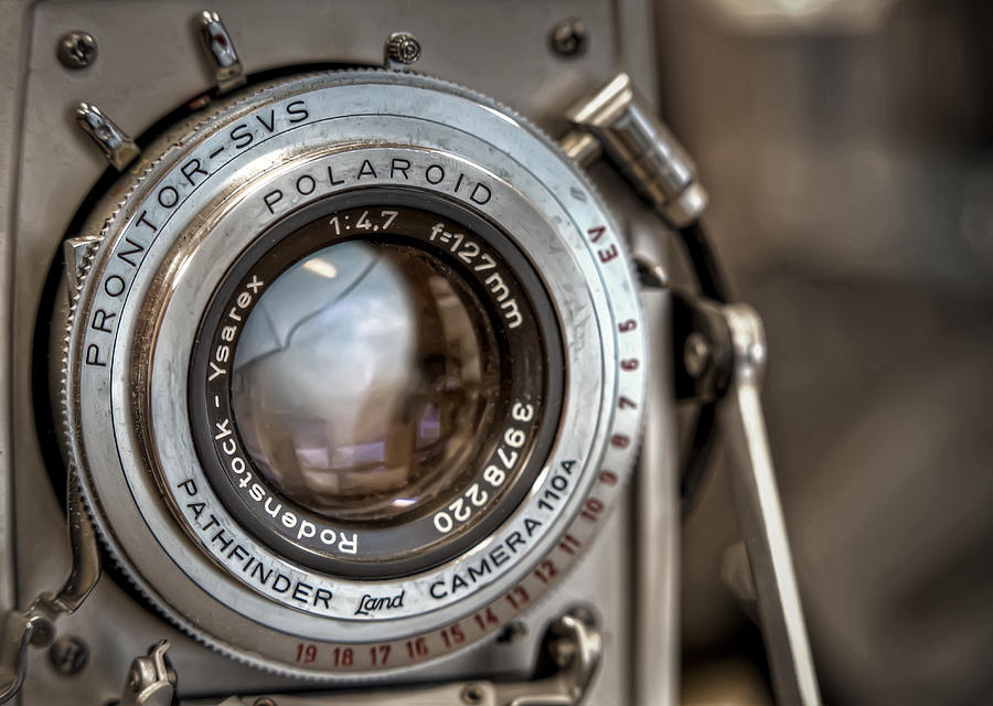 Polaroid Photograph - Polaroid Pathfinder by Scott Norris