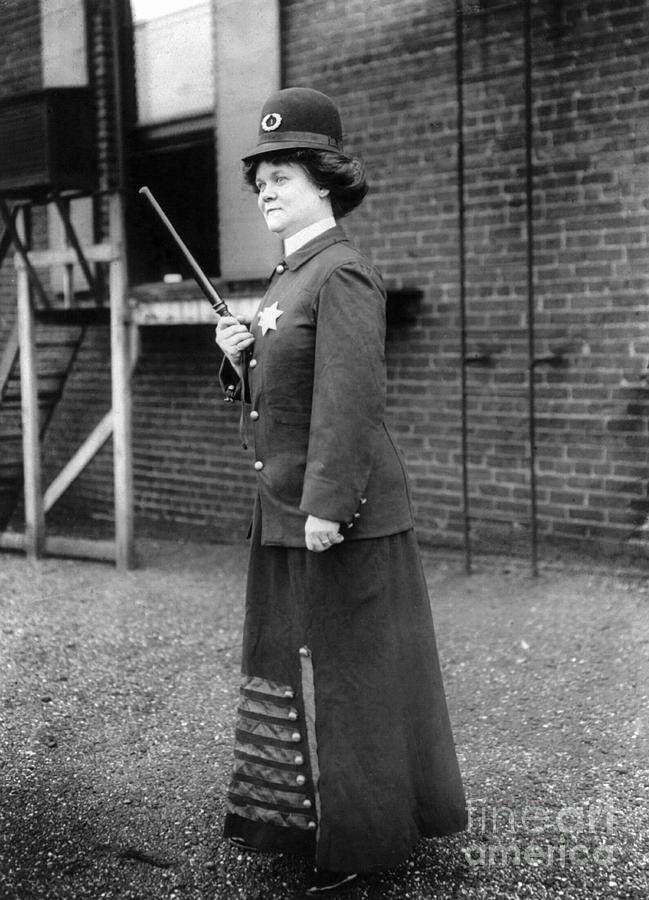 Policewoman, 1909 Photograph