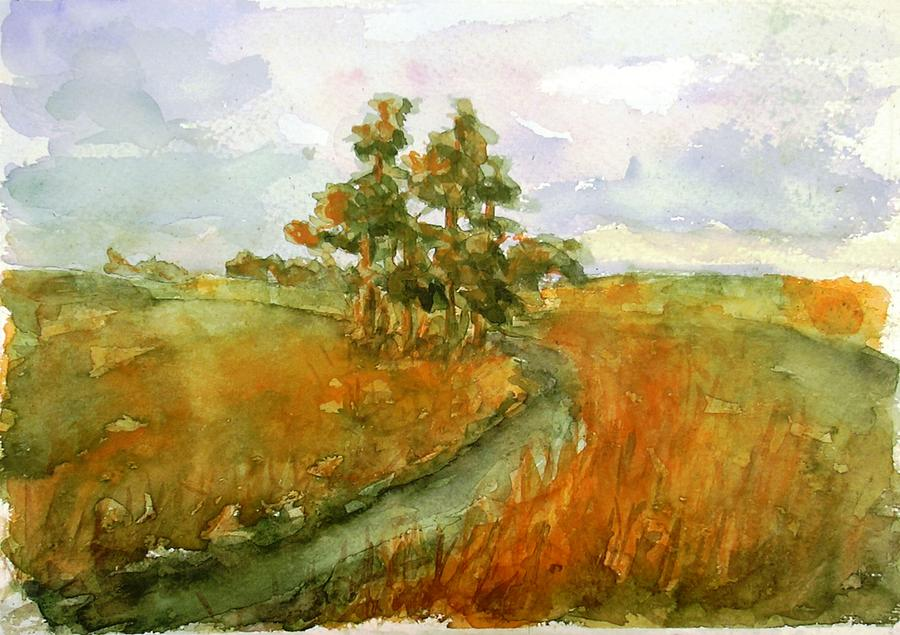 Polish landscape by justyna pastuszka for Best painting images
