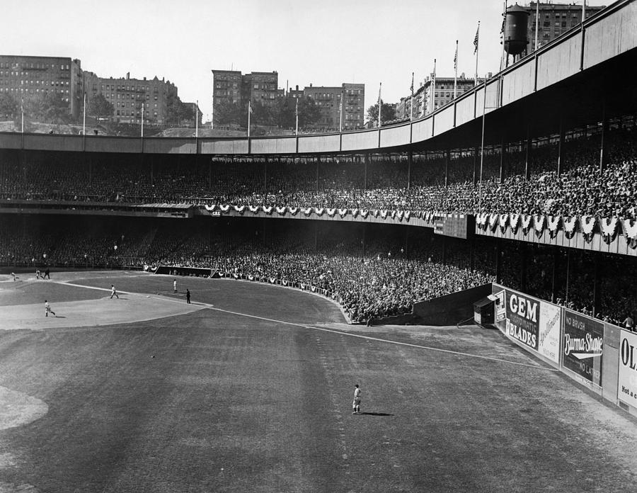 Polo Grounds, During The First Game Photograph  - Polo Grounds, During The First Game Fine Art Print