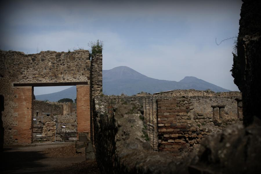 Rocks Photograph - Pompei by Kevin Flynn