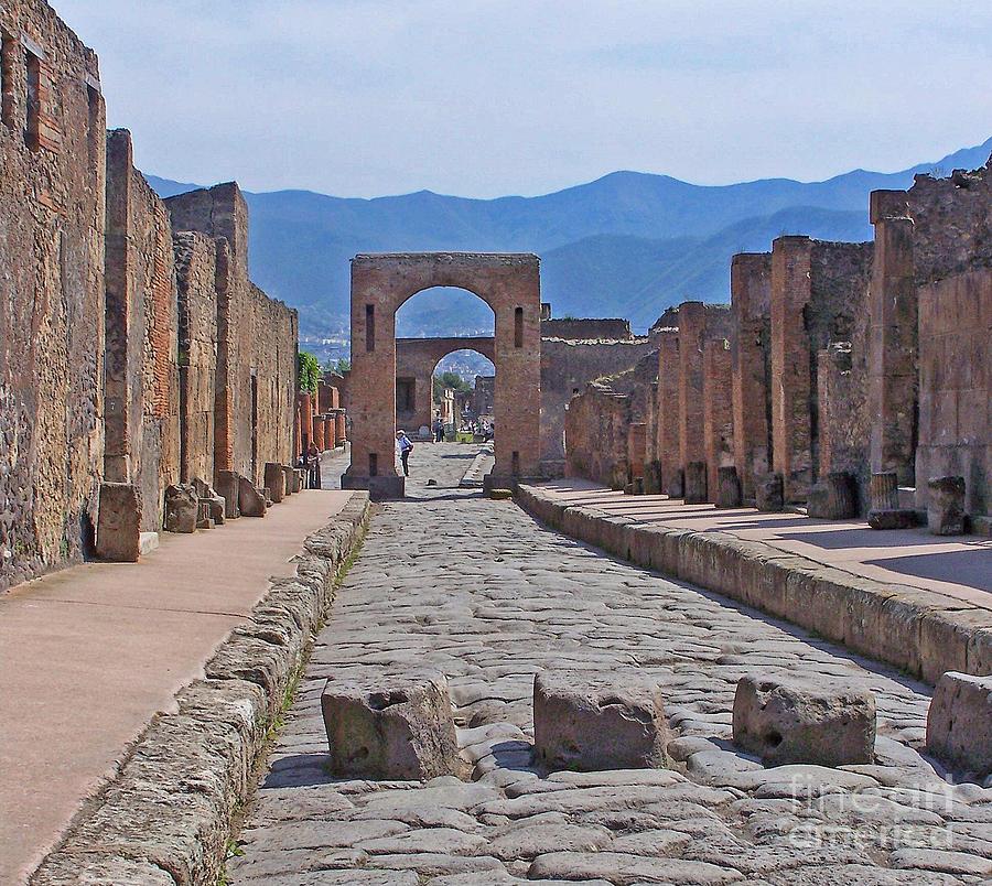 Pompeii street by jack schultz