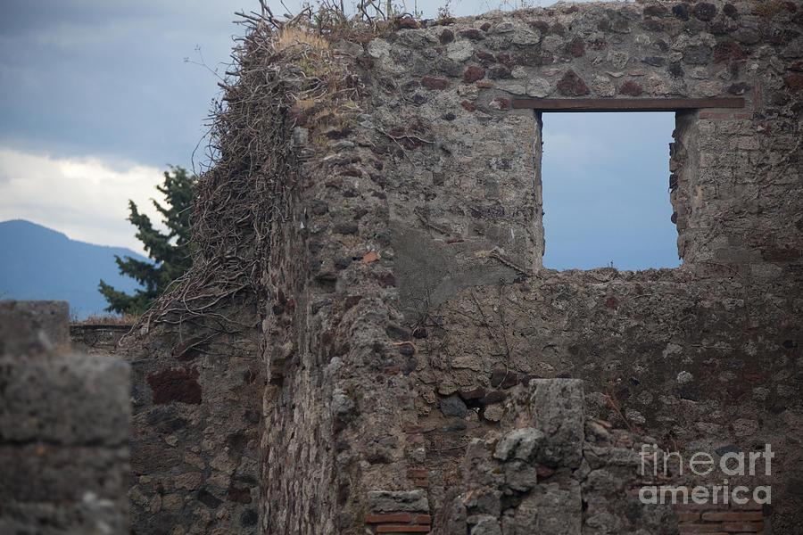 Pompeii Window Photograph