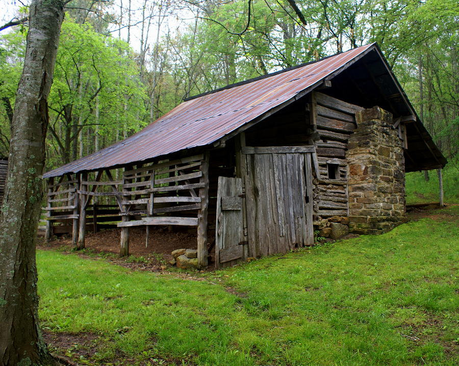 Ponca Barn Photograph