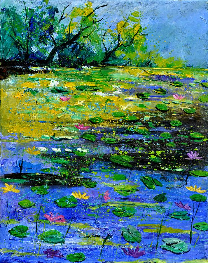 Pond 452150 Painting  - Pond 452150 Fine Art Print
