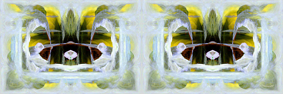 Pond In Fairyland Digital Art