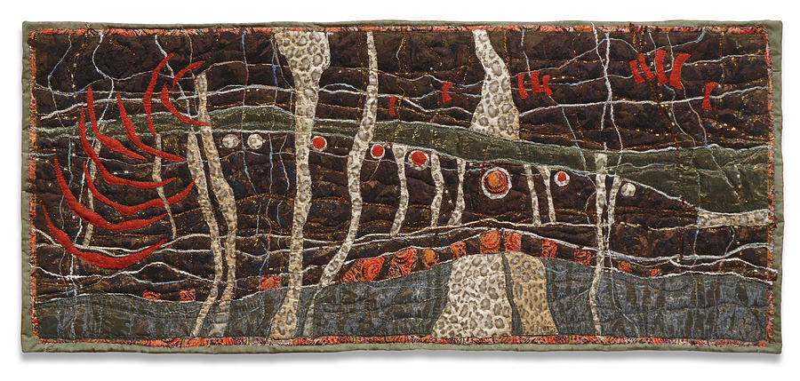 Pond Life 6 Tapestry - Textile