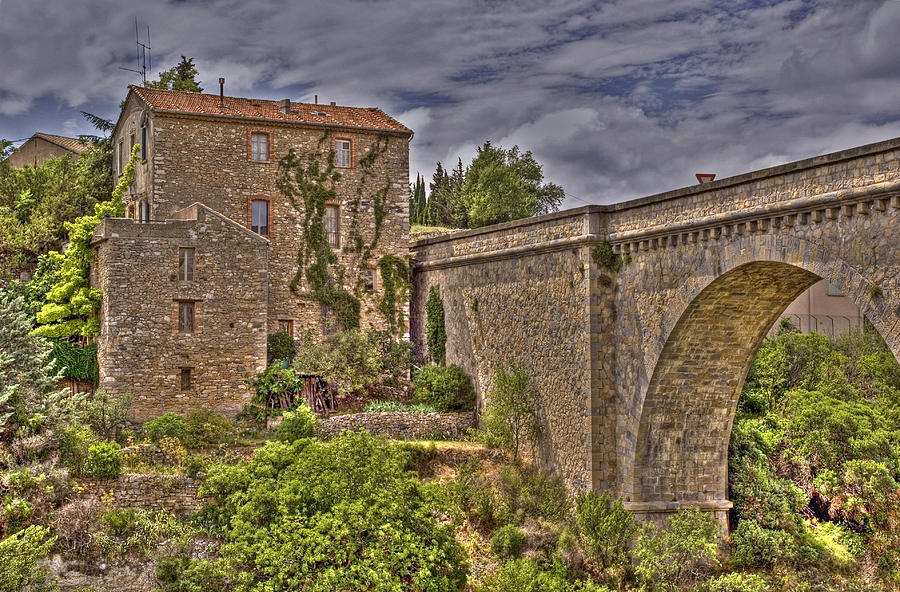 Herault Photograph - Pont De Minerve by Rod Jones