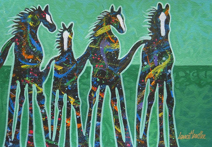 Pony Pastures Painting