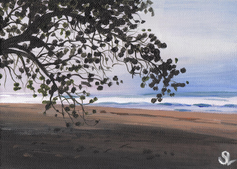 Pools Beach Painting  - Pools Beach Fine Art Print