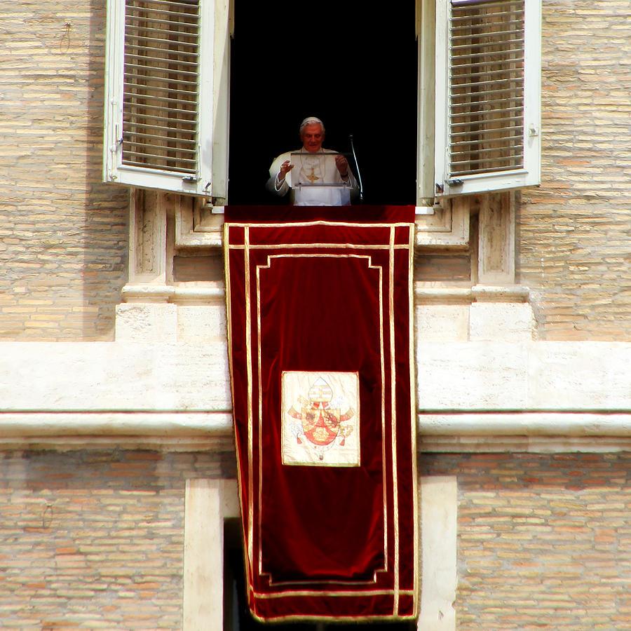 Pope Benedict Xvi B Photograph