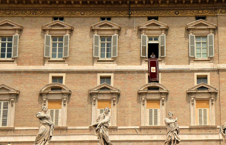 Pope Benedict Xvi C Photograph