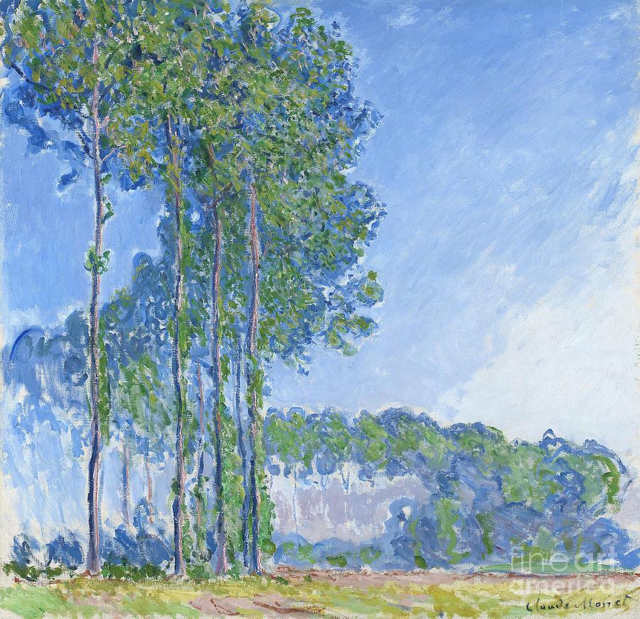 Poplars Painting