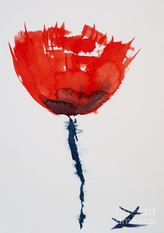 Poppy Painting  - Poppy Fine Art Print