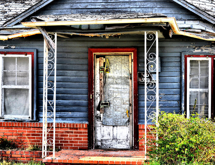 Porch Of S Photograph  - Porch Of S Fine Art Print
