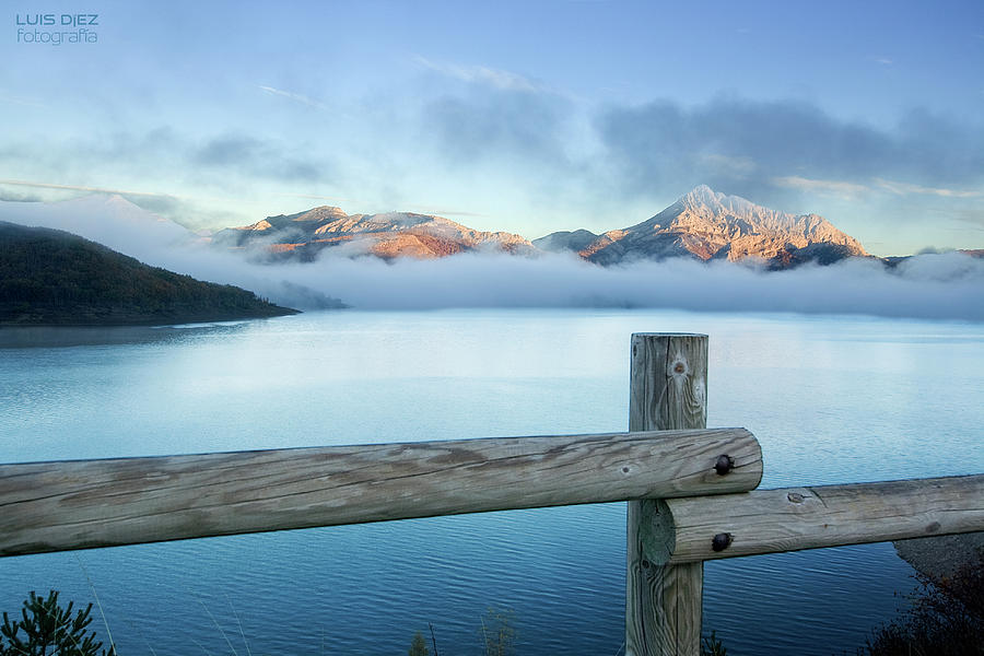 Porma Reservoir Photograph