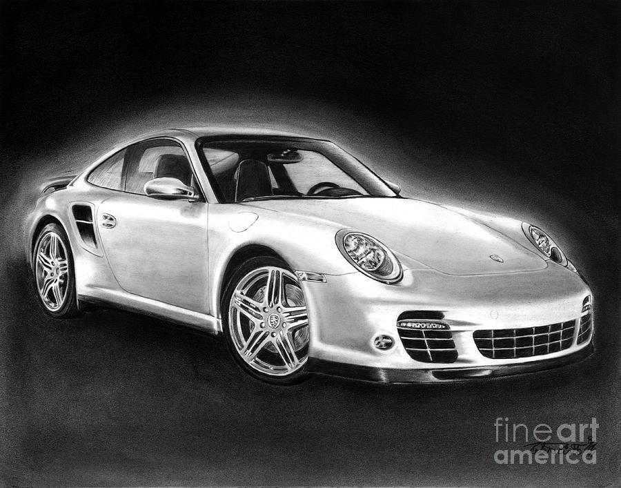 Porsche 911 Turbo    Drawing