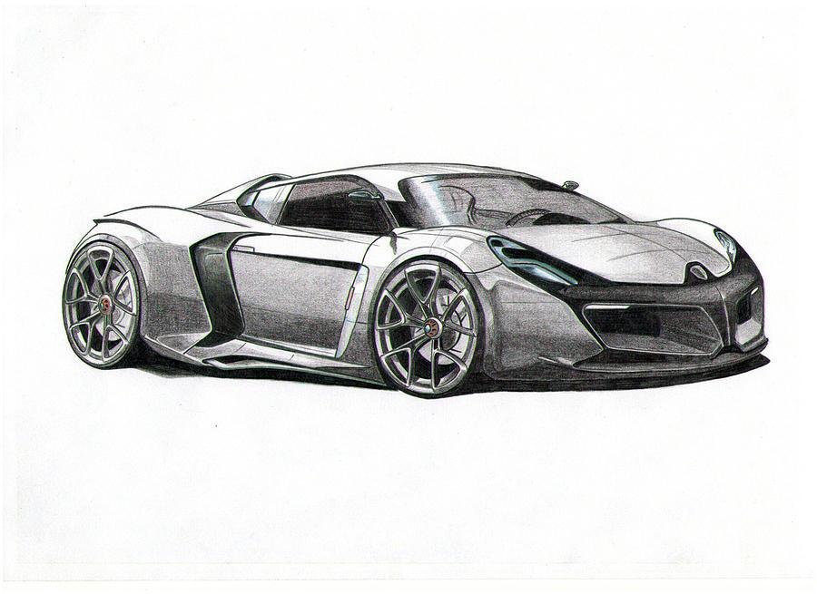 Porsche Car Pictures Porsche Car Drawings