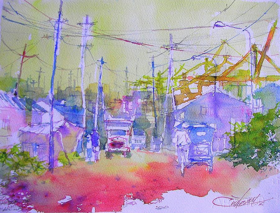 Port Of Manilla Painting