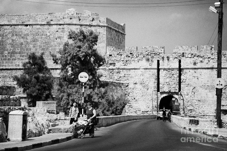 Porta Di Limisso Old Land Limassol Gate In The Old City Walls Famagusta Photograph