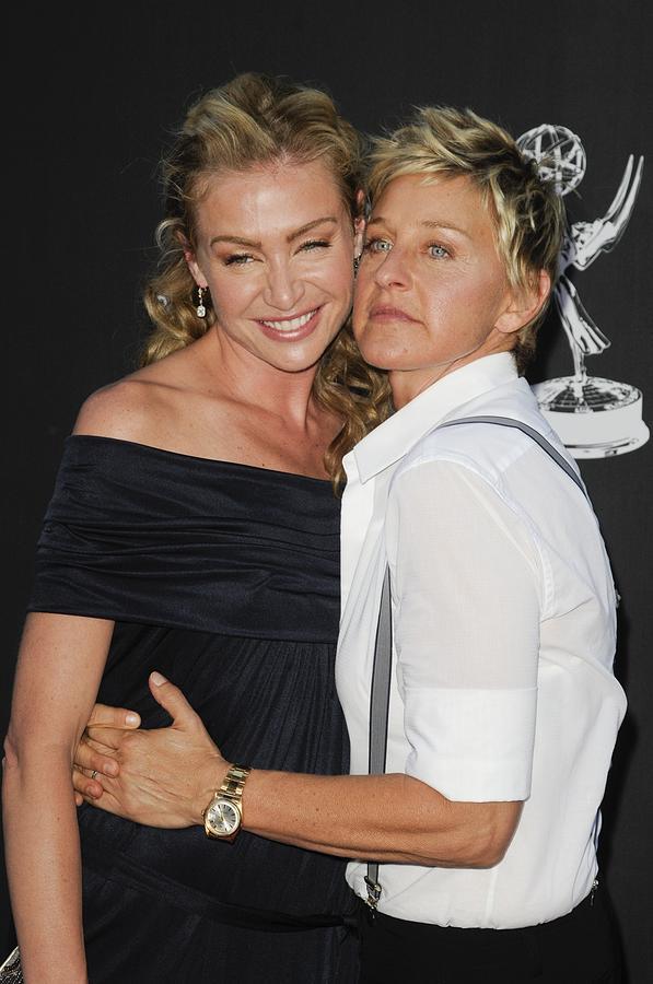 Portia De Rossi, Ellen Degeneres Photograph