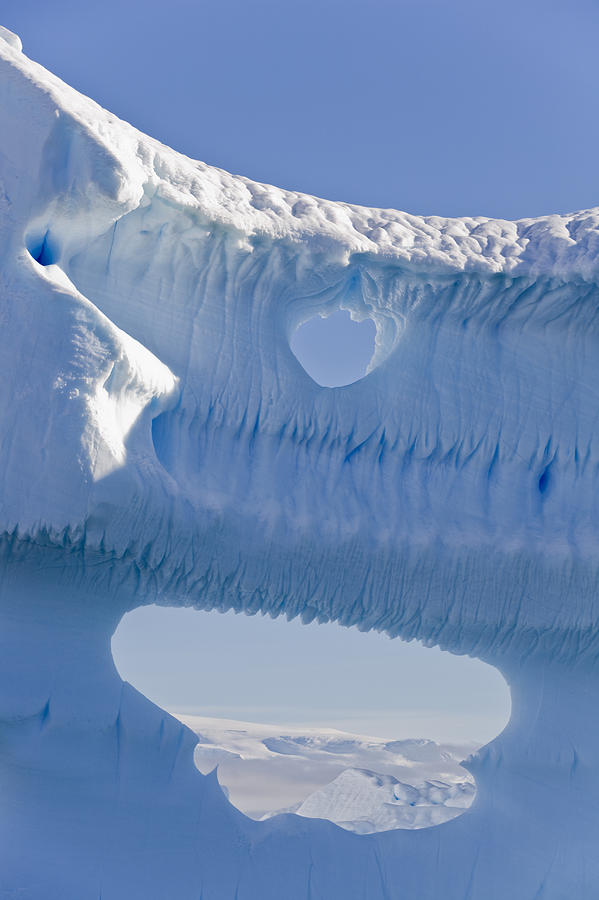 Big Photograph - Portion Of A Gigantic Iceberg by Ron Watts