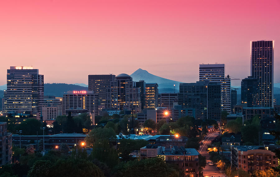 Portland Sunrise Photograph