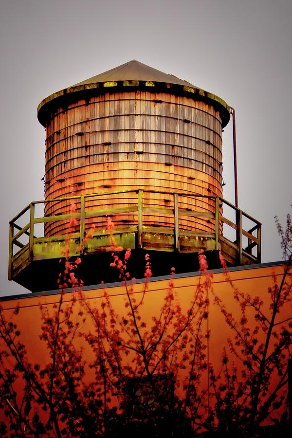 Portland Water Tower IIi Photograph  - Portland Water Tower IIi Fine Art Print