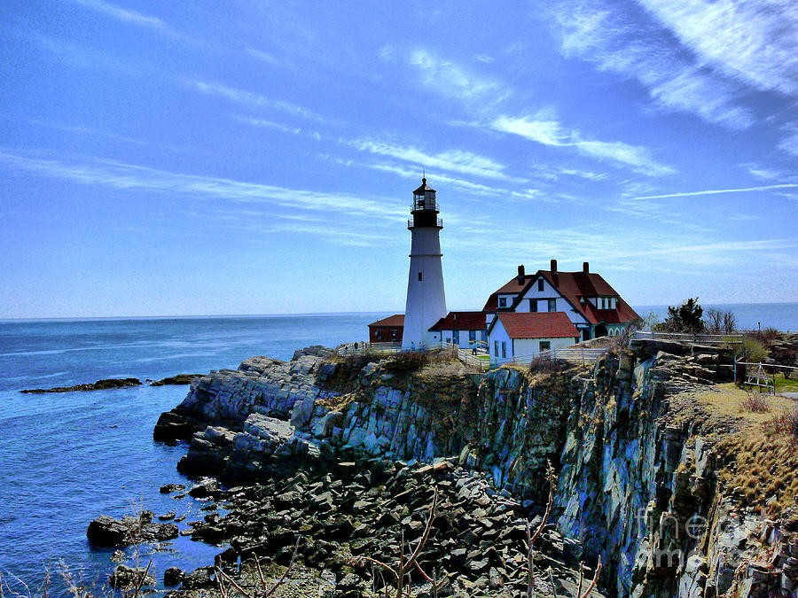 Portlandhead Light Photograph  - Portlandhead Light Fine Art Print