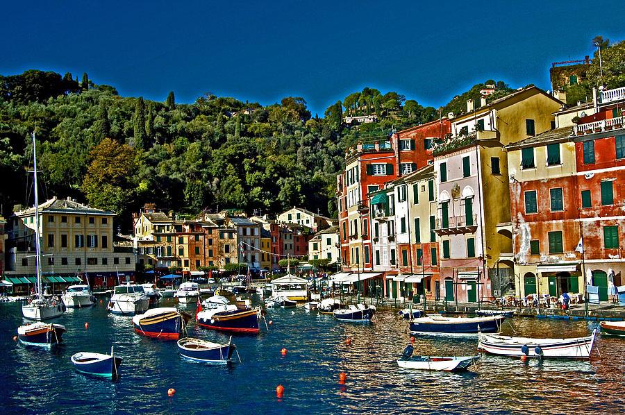 Portofino Italy  City new picture : Portofino Bay Italy by Allan Einhorn