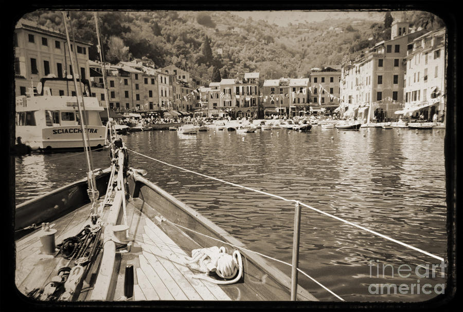 Portofino Italy From Solway Maid Photograph