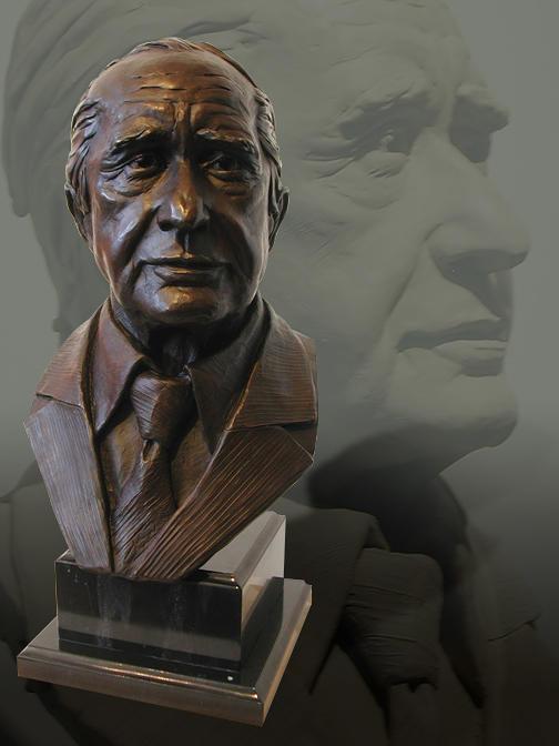Portrait Bust Of Patron Sculpture
