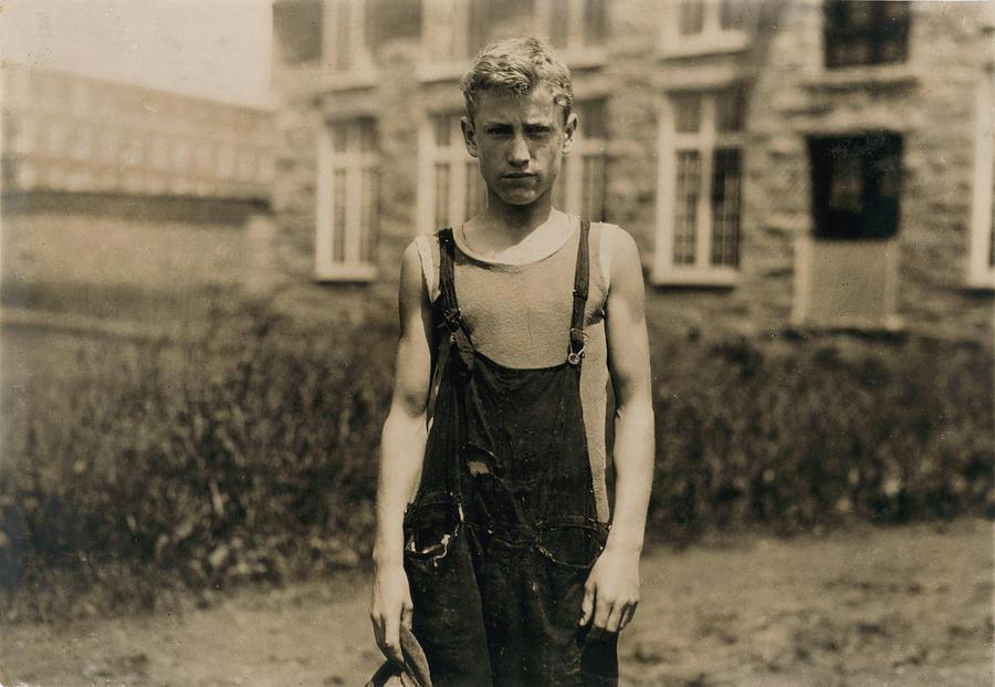 Portrait Of A Doffer, Marian Viera Photograph