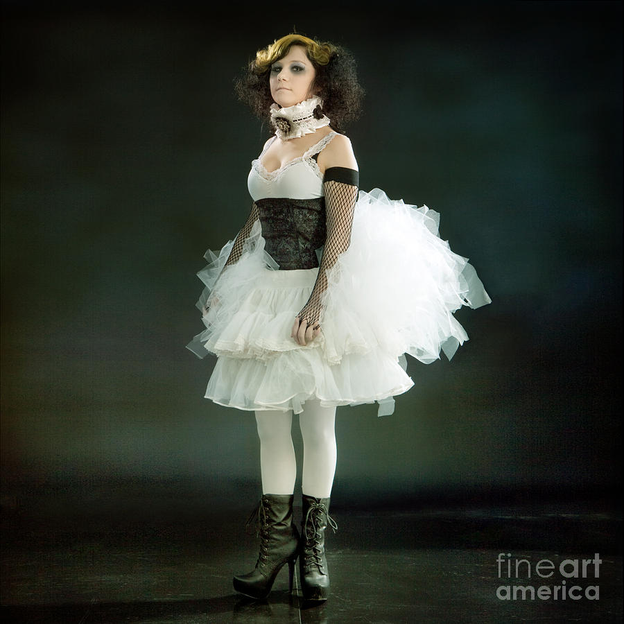 Portrait Of A Vintage Dancer Series Photograph  - Portrait Of A Vintage Dancer Series Fine Art Print