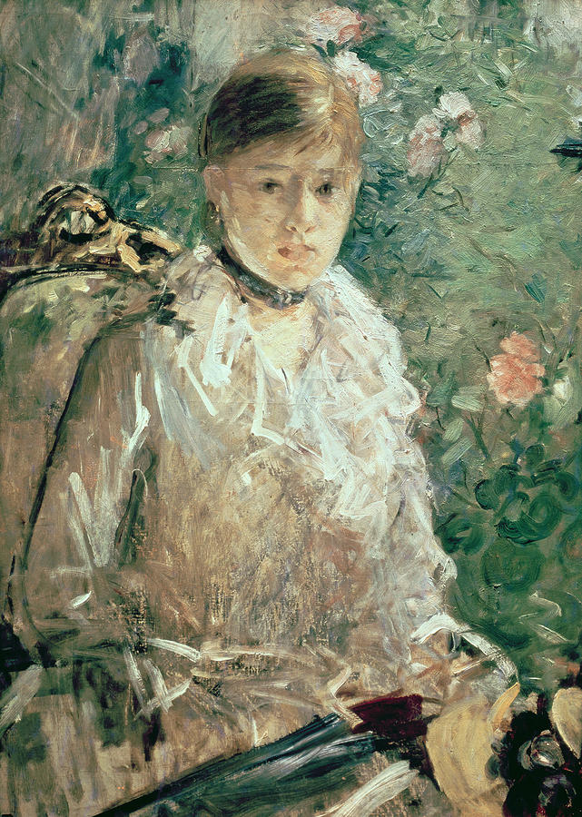 Portrait Of A Young Lady Painting