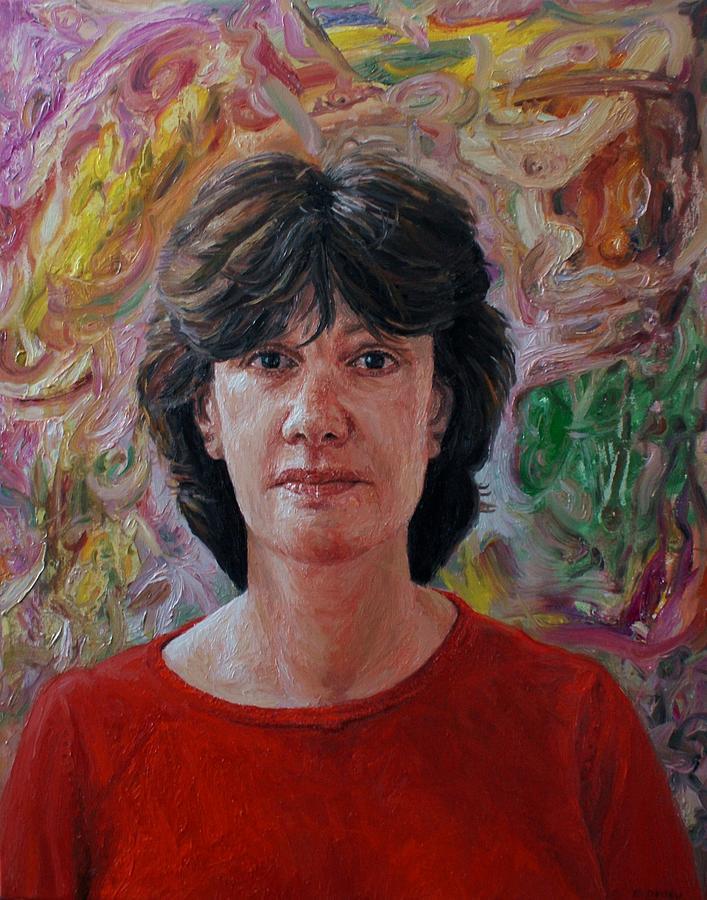 Face Painting - Portrait Of Annika by Edward Ofosu