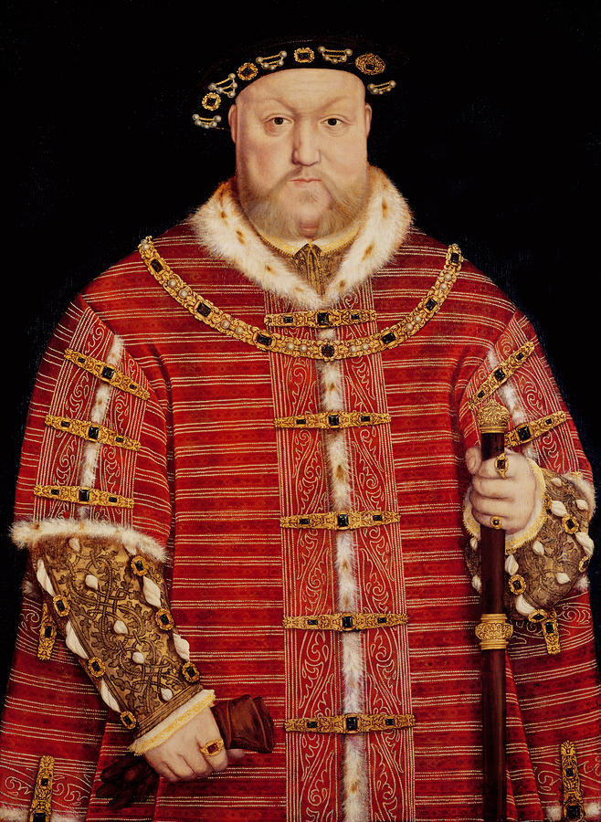Portrait Of Henry Viii Painting