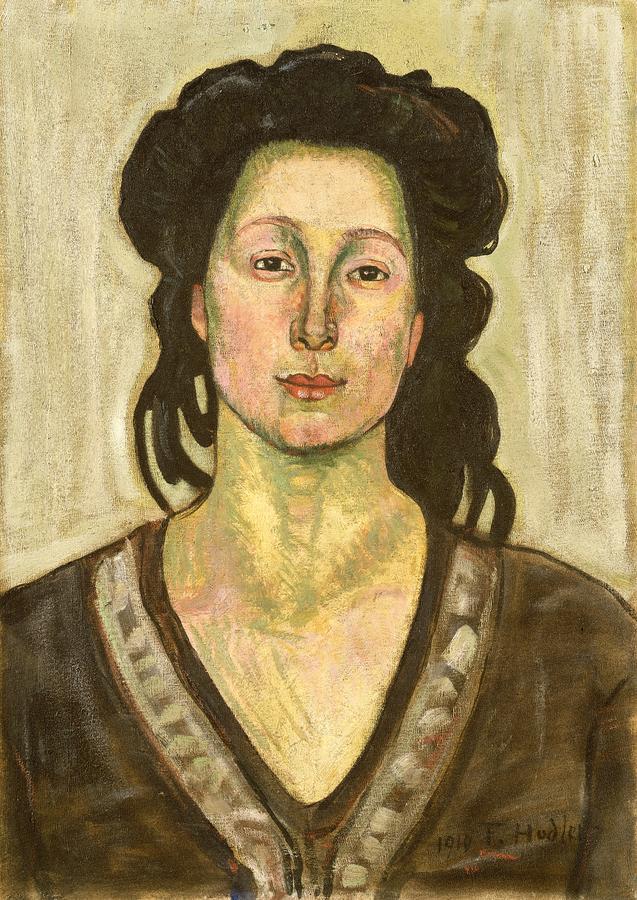 Portrait Of Jeanne Cerani Painting