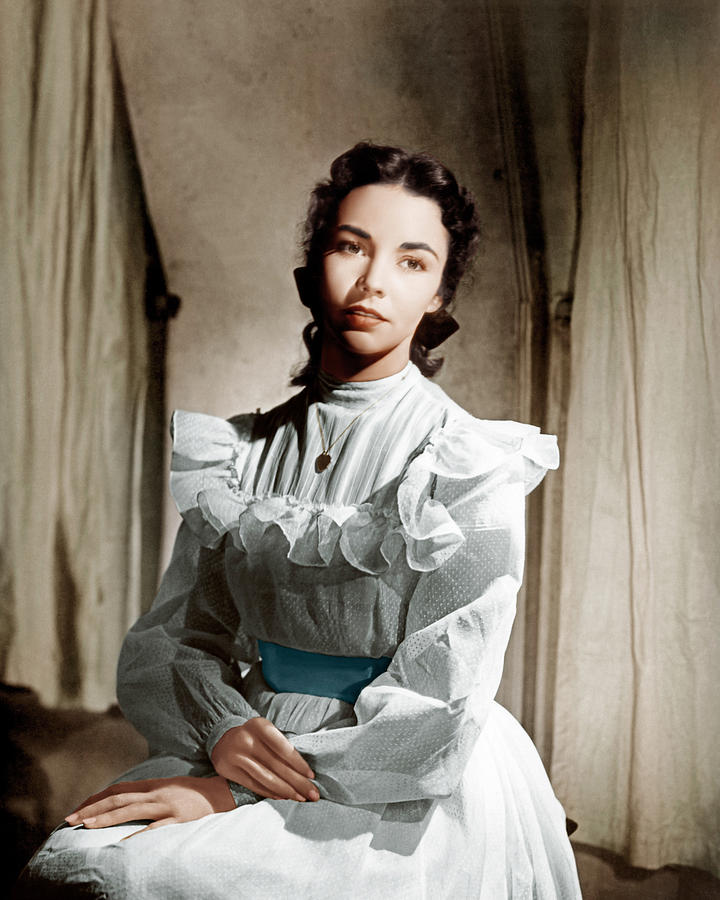 Portrait Of Jennie, Jennifer Jones, 1948 Photograph  - Portrait Of Jennie, Jennifer Jones, 1948 Fine Art Print